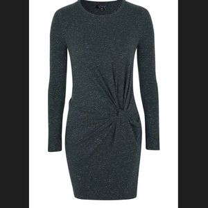 Top Shop long sleeve knit Bodycon dress